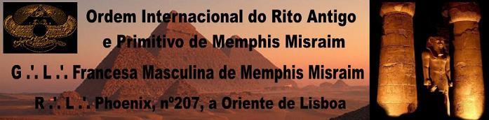Memphis Misraim em Portugal