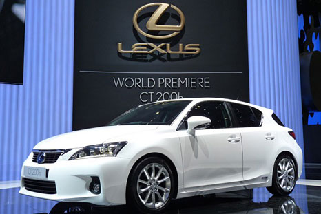 Lexus has released details for its all-new 2011 Lexus CT 200h compact hybrid