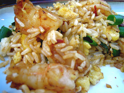 Stephanie Cooks: Spicy Shrimp Fried Rice