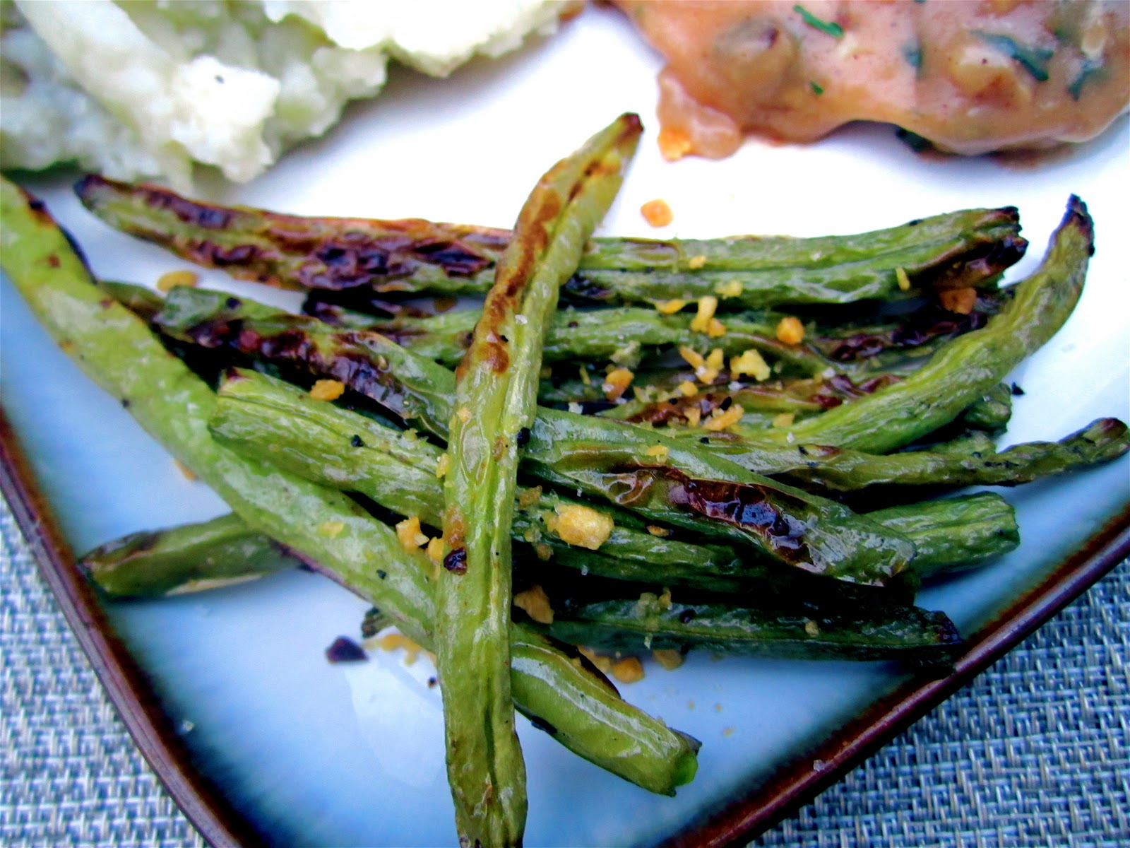 Stephanie Cooks: Roasted Green Beans