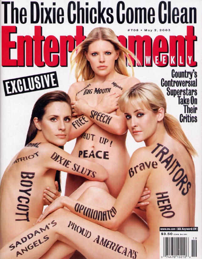 dixie chicks the bitter backlash The boycotting of dixie chicks' shows, as well as the burning of their albums, soon became a popular backlash against their view the girls are still the top-selling all-female band and top-selling country band from 1991 to present day.