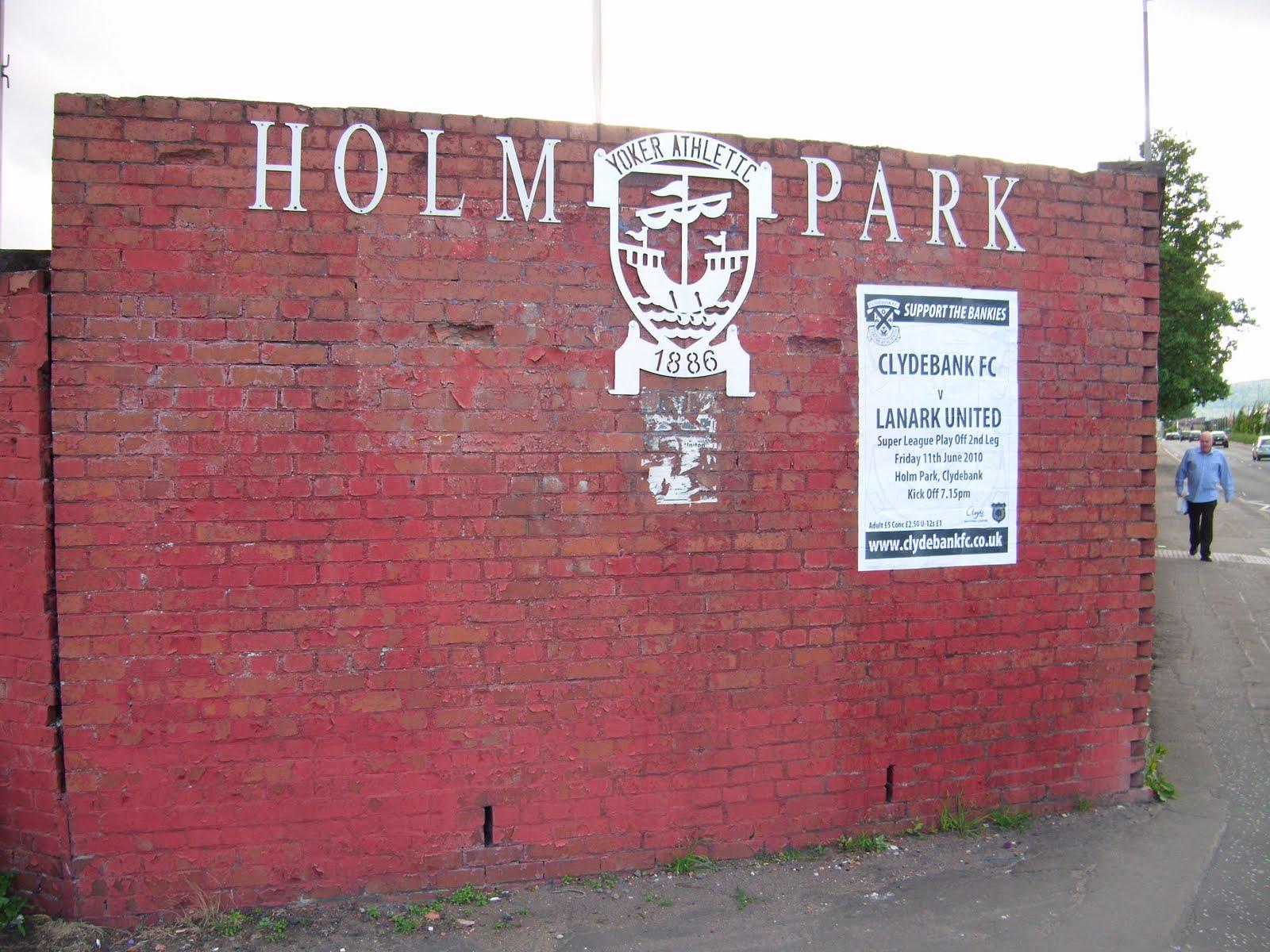 Holm Park Clydebank V Lanark United