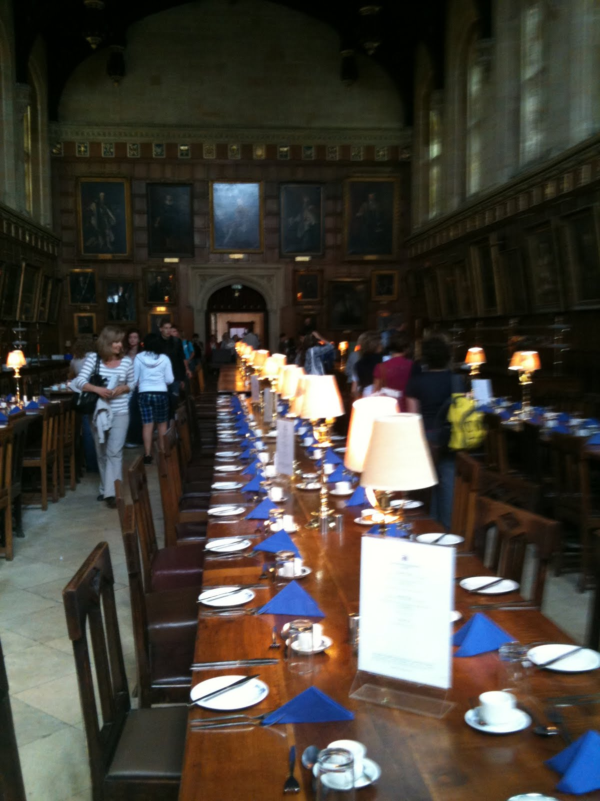 Hogwarts Dining room  Review of Christ Church Oxford