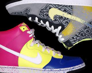 reputable site cc928 90444 Nike SB Dunk High Premium by Ron Cameron—Fashion and popular