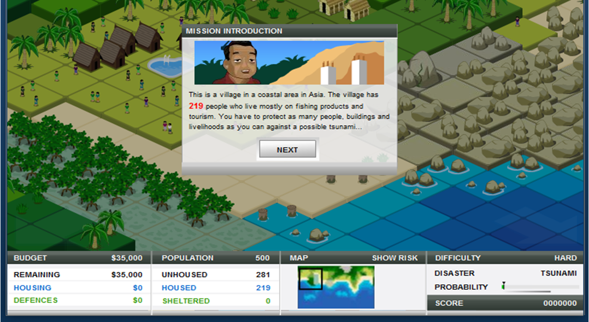 Geography Natural Disasters Game