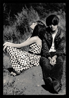 cute couples black and white picture