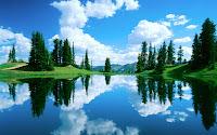 reflection nature wallpaper 1280x800