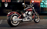 FXCW Softail Rocker harley motorcycle picture harley davidson bike
