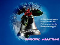 christmas new year greetings wallpaper