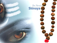 Shiva Eye Wallpaper Rudraksha