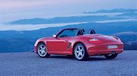 Red Porsche Boxster S