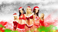 Christmas Girls Wallpaper