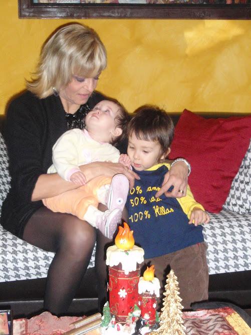 Con Diana e Oscar