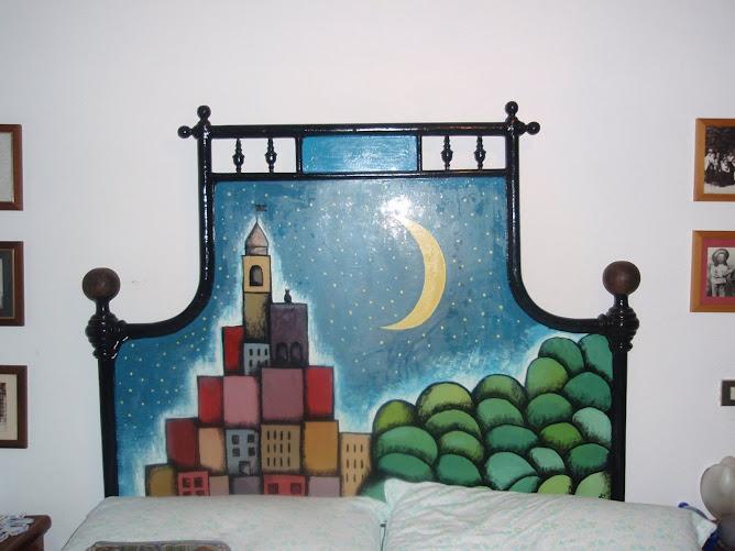 Il nostro letto a Montereggio