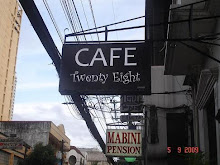 Cafe Twenty Eight at 1335 Mabini Street, Ermita, Manila