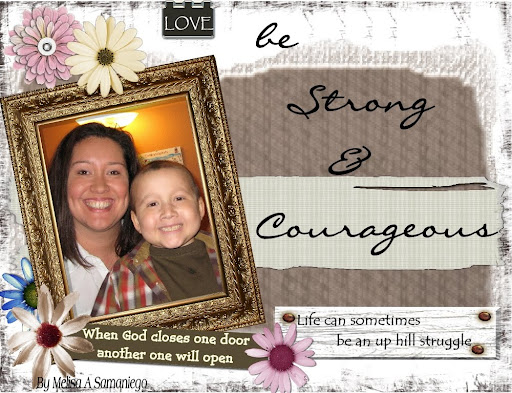 Samaniego be strong & courageous