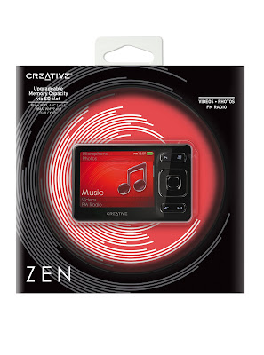 Creative's 32GB ZEN Invades Europe
