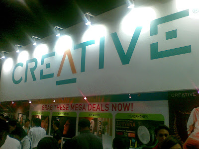 Creative Booth Setup @ IT Show 2008