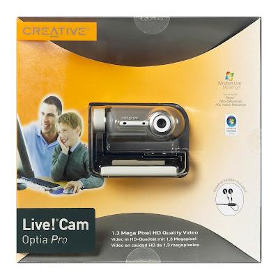 Creative's Live! Cam Optia Pro Webcam Review