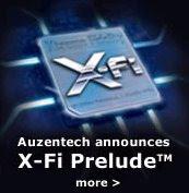 x-fi prelude