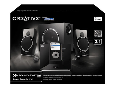 Creative X-Fi i600 Sound System Box