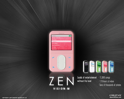 Creative Zen Vision M