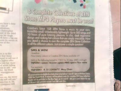 Creative Zen Stone Contest