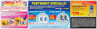 Great Creative Sale: Fortnight Specials