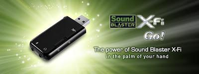 Creative Releases SoundBlaster X-Fi Go!