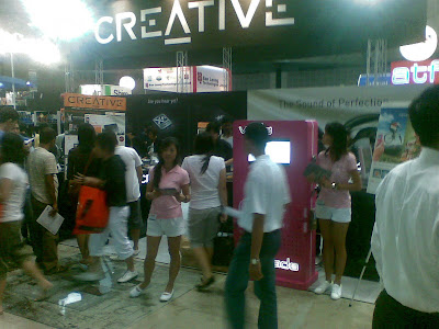 Exclusive: Creative Booth Setup/Brochure @ COMEX 2008