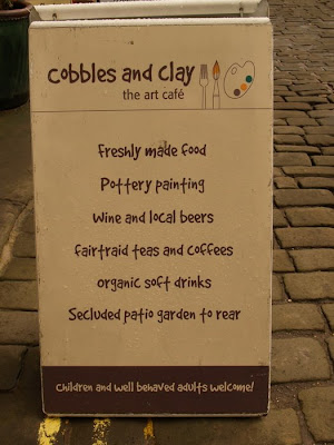 Cobbles sign