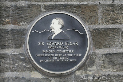 Edward Elgar Plaque Settle North yorkshire