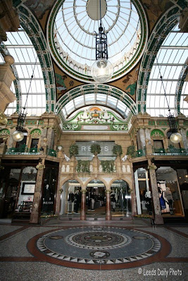 County Arcade Ceiling Leeds