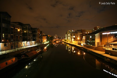 Leeds Canal Night