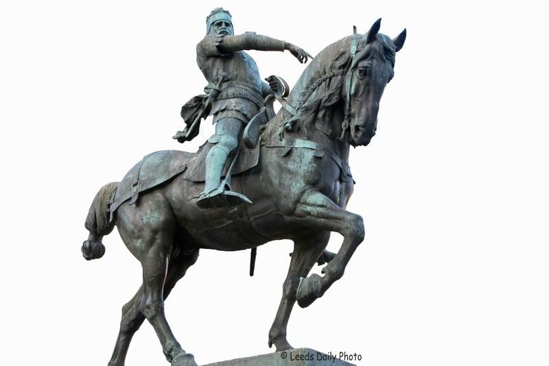 Black Prince Statue Leeds