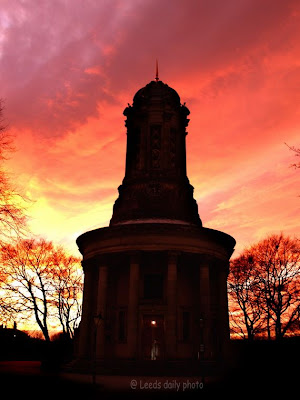 Saltaire Church Sky