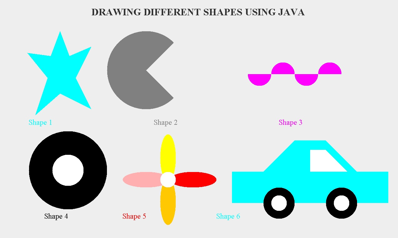 Drawing Lines Java : Welcome to razia s drawing shapes using java d
