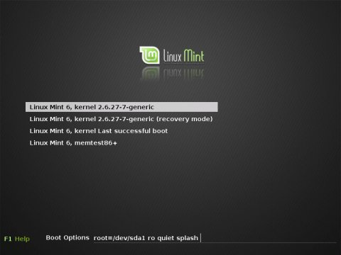 grub linux: