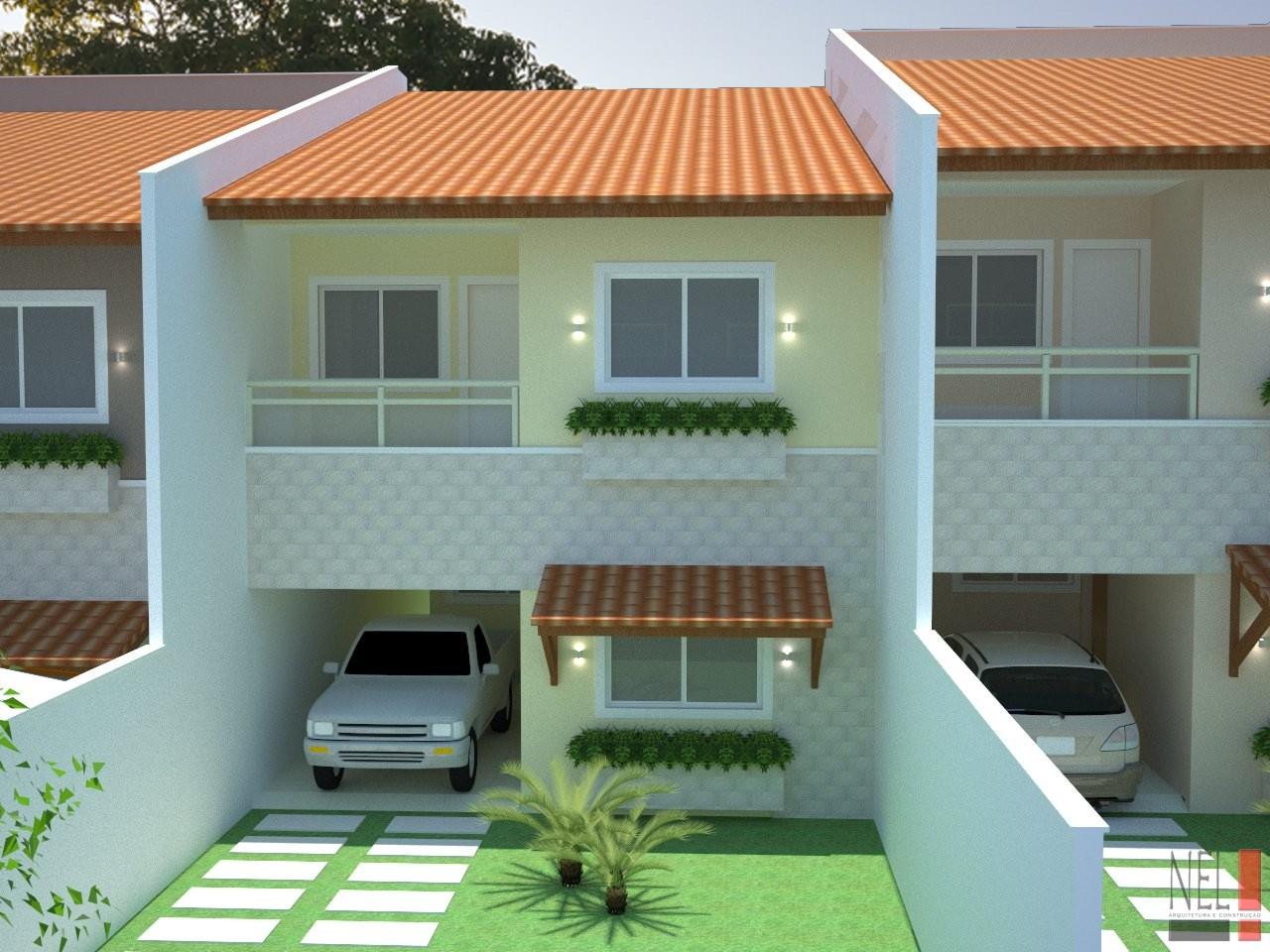 Nel arquitetura e constru o casas geminadas cliente for Casas en 2d