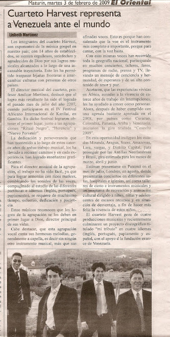 Press Oriental from Venezuela