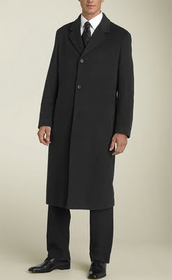 How to Buy The Right Men's Overcoat