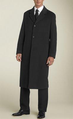 How to Buy The Right Men's Overcoat