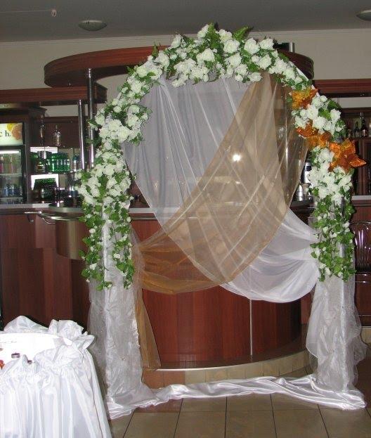 Свадебная арка своими руками с фото