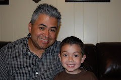 Daddy and Siah's matching haircuts!