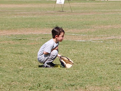 Siah's first T-ball practice