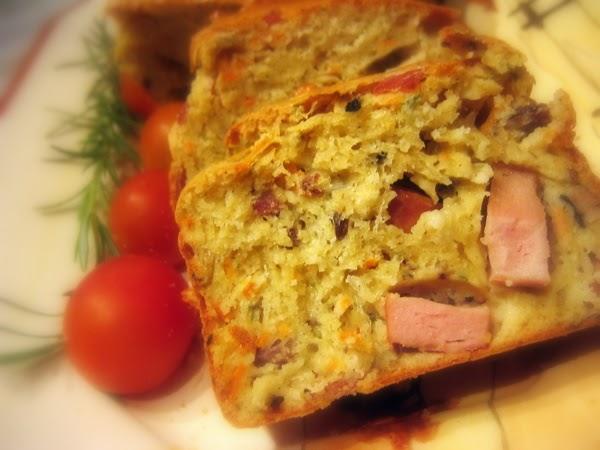 Cake Sal Ef Bf Bd Jambon Olive Sans Levure