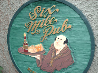 six mile pub vanacouver island logo signage chris and stu dobell north america