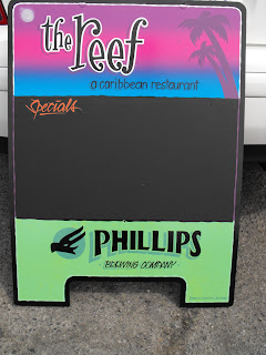 phillips brewery hand painted advertising sgns a boards north america