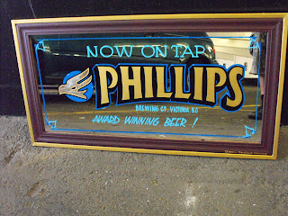 traditional signage dobell designs hand painted mirror phillips brewery
