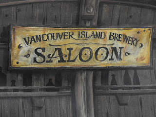 Vancouver island brewery antique signage hand painted Victoria British Columbia Canada traditional signage dobell designs